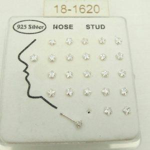 خرید انواع پیرسینگ بینی نقره