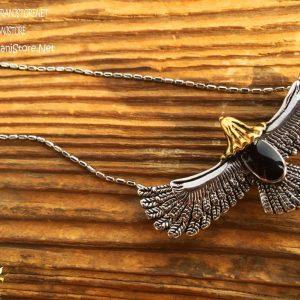 خرید گردنبند طرح عقاب