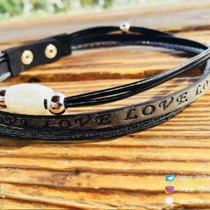 خرید دستبند زنانه دو دور گردنبندشو