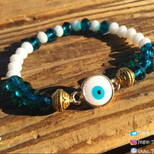 خرید دستبند مهره ای چشم نظر