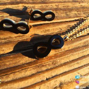 خرید ست دستبند گردنبند و گوشواره اینفینیتی