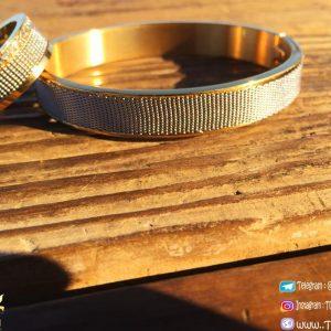 خرید ست دستبند و انگشتر زنانه نگین دار