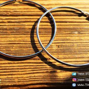 خرید گوشواره دایره ای استیل